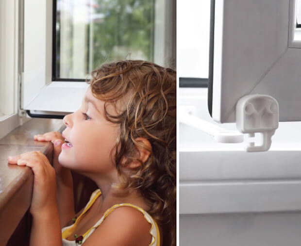 Ayarlı Özel Çocuk Pencere Kilidi