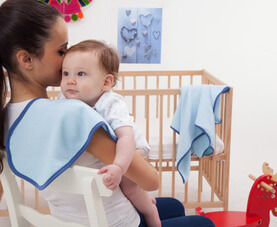 Müslin Omuz Örtüsü / Bebe Önlüğü